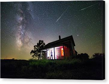 The Outsider Canvas Print by Aaron J Groen