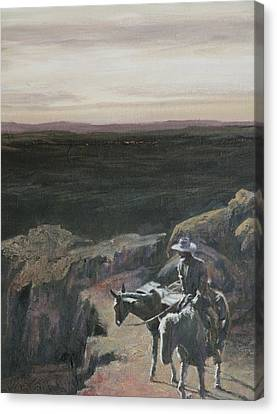 The Overlook Canvas Print by Mia DeLode