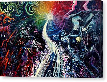 The Path To Enlightenment Canvas Print by Steve Griffith