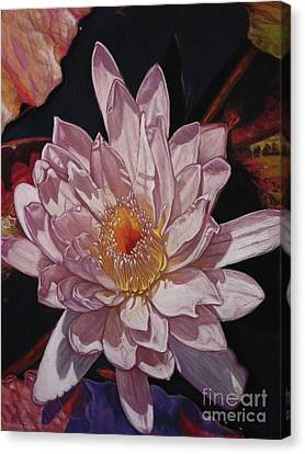 The Perfect Lily Canvas Print by Melissa Tobia