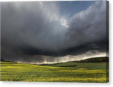 The Perfect Storm Canvas Print by Ian Hufton