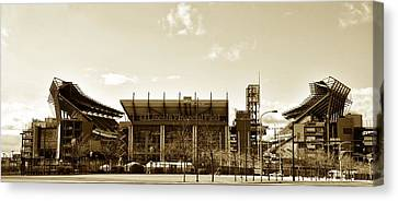 The Philadelphia Eagles - Lincoln Financial Field Canvas Print by Bill Cannon