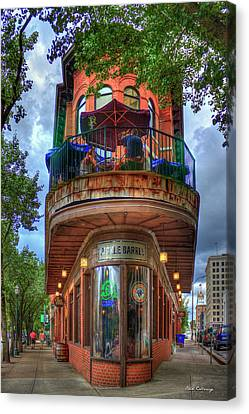 The Pickle Barrel Chattanooga Tn Canvas Print by Reid Callaway
