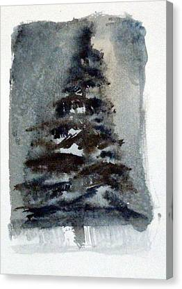 The Pine Tree Canvas Print by Mindy Newman