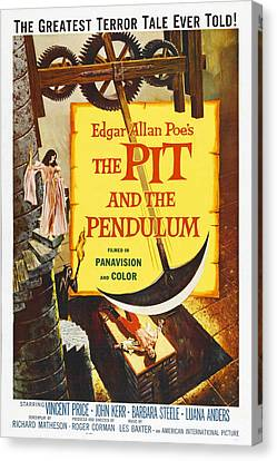 The Pit And The Pendulum, 1961 Canvas Print by Everett