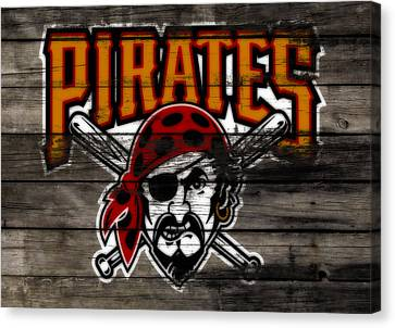The Pittsburgh Pirates 1a Canvas Print by Brian Reaves