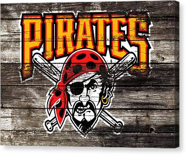 The Pittsburgh Pirates 1c Canvas Print by Brian Reaves