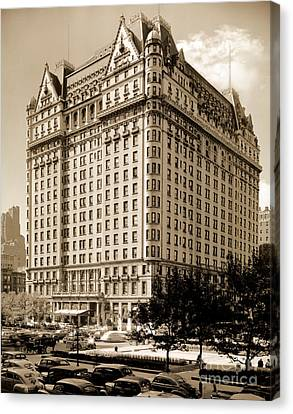 The Plaza Hotel Canvas Print by Henry Janeway Hardenbergh