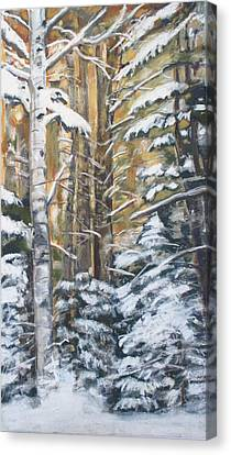 The Poetry Grove Canvas Print by Grace Keown