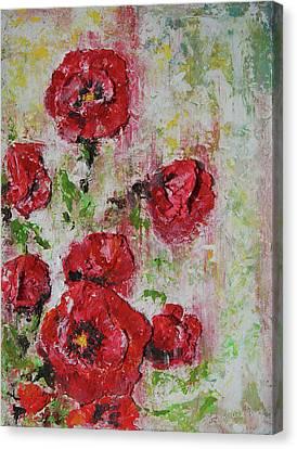 The Poppies Canvas Print by Tatiana Ilieva