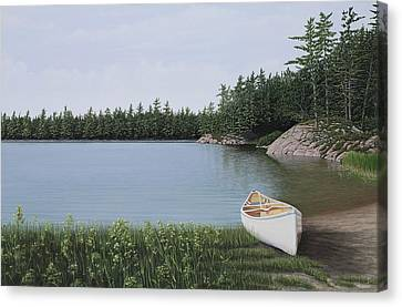 The Portage Canvas Print by Kenneth M  Kirsch