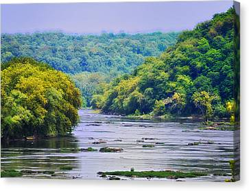 The Potomac Canvas Print by Bill Cannon