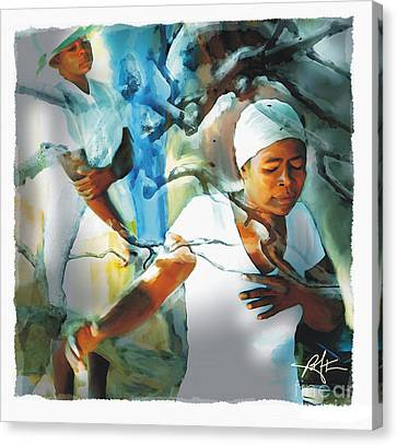 The Prayer Tree Haiti Canvas Print by Bob Salo