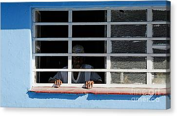 The Prisoner?  Havana Cuba Canvas Print by David Carton
