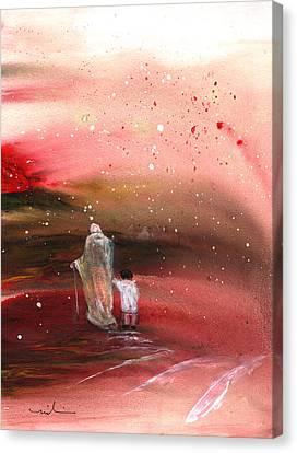 The Prodigal Son 02 Canvas Print by Miki De Goodaboom