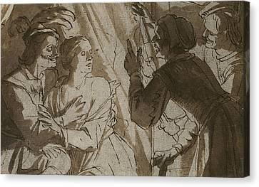 The Prodigal Son Canvas Print by Gerrit van Honthorst