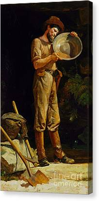 The Prospector Canvas Print by Reproduction