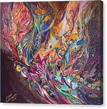 The Purple Stream Canvas Print by Elena Kotliarker