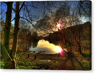 The Quoile Canvas Print by Kim Shatwell-Irishphotographer