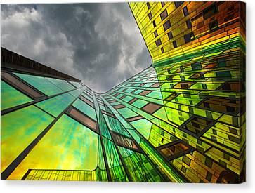 The Rainbow Canvas Print by Gerard Jonkman
