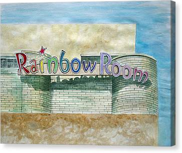 The Rainbow Room Canvas Print by Patricia Arroyo
