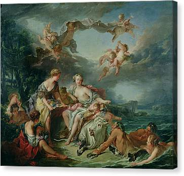 The Rape Of Europa Canvas Print by Francois Boucher