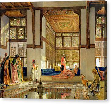 The Reception Canvas Print by John Frederick Lewis