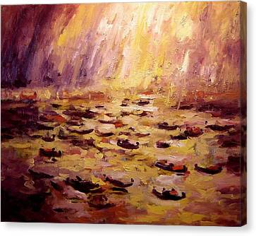 The Redentore Canvas Print by R W Goetting