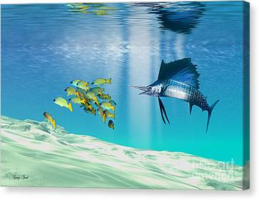 The Reef Canvas Print by Corey Ford