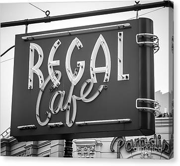 The Regal Canvas Print by Perry Webster