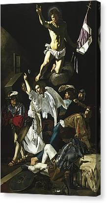The Resurrection Canvas Print by Cecco de Caravaggio