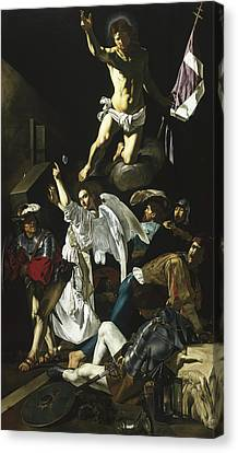 The Resurrection Canvas Print by Cecco de Caravaggio