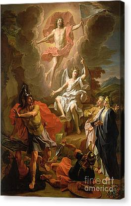 The Resurrection Of Christ Canvas Print by Noel Coypel