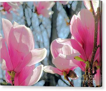 The Return Of Spring Canvas Print by Christine Belt