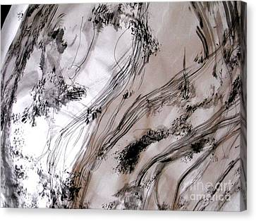 The Rhythm Of Spring 2 Canvas Print by Nancy Kane Chapman