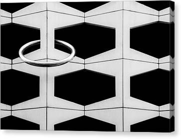 The Ring Canvas Print by Gilbert Claes