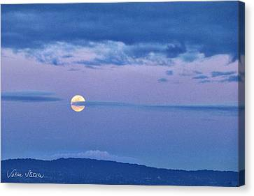 The Rising Canvas Print by Sabine Stetson