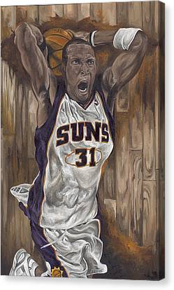 The Rising Sun Canvas Print by David Courson