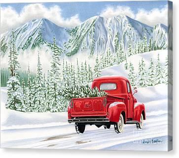 The Road Home Canvas Print by Sarah Batalka