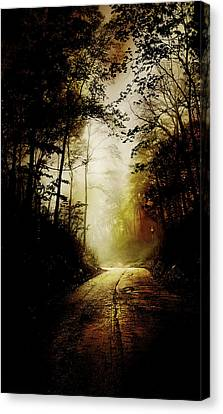 The Road To Hell Take II Canvas Print by Scott Norris
