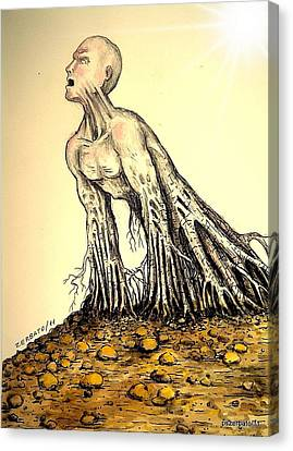 The Roots Are Deep Canvas Print by Paulo Zerbato