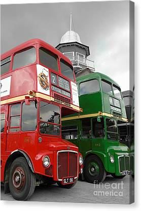 The Routemaster's Canvas Print by Timothy Morgan