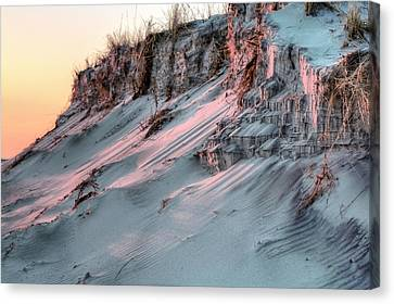 The Sands Of Time Canvas Print by JC Findley