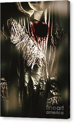 The Scarecrow - Tin Man Trade Canvas Print by Jorgo Photography - Wall Art Gallery