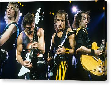 The Scorpions Canvas Print by Rich Fuscia