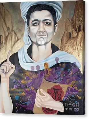 The Seven Deadly Sins - Wrath Canvas Print by James Perez