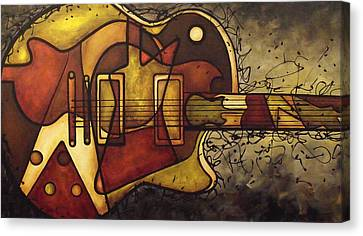 The Shape That Defines Us Canvas Print by Darlene Keeffe