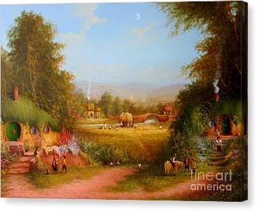 The Shire. Canvas Print by Joe  Gilronan