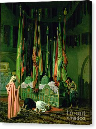 The Shrine Of Imam Hussein Canvas Print by Jean Leon Gerome