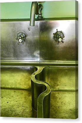 The Sink Canvas Print by Elizabeth Hoskinson